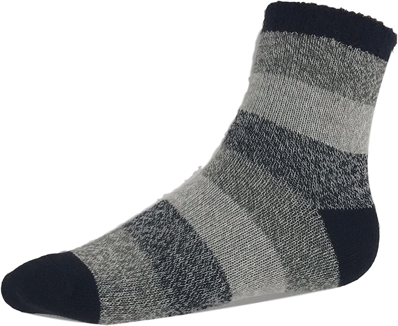 Field and Stream Women's Cozy Cabin Socks Black Stripe