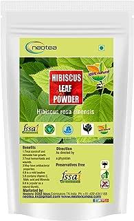 Neotea Hibiscus rosa-sinensis | Hibiscus Leaf Powder, 300g