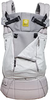 LÍLLÉbaby Complete All Seasons SIX-Position 360° Ergonomic Baby & Child Carrier, Silver Lining - Lumbar Support