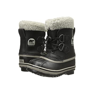 SOREL Kids Yoot Pactm TP (Little Kid/Big Kid) (Black) Kids Shoes