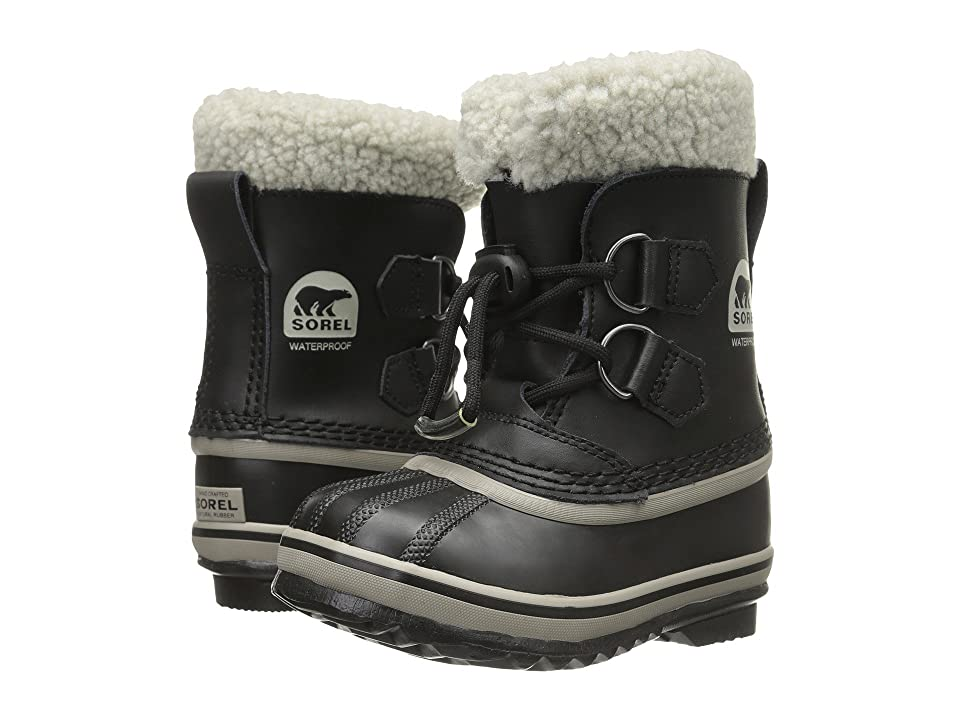 SOREL Kids Yoot Pactm TP (Little Kid/Big Kid) (Black) Kids Shoes
