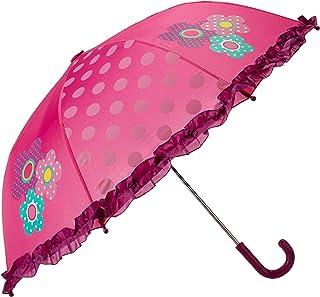 Western Chief Apparel Girls' Little Character Umbrella, Flower Cutie, One Size