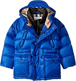 Burberry Kids Quilted Down Jacket (Little Kids/Big Kids)