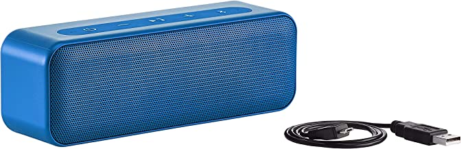 AmazonBasics 15-Watt Bluetooth Stereo Speaker with Water Resistant Design - Blue