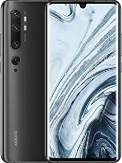 Xiaomi Mi Note 10 ■ 128GB 6GM RAM★ FIVE Rear Camera 108MP (7P lens)+12MP +5MP +20MP +2MP ■5260mAh Battery搭載■ Global Versionグローバル版 ■マルチ言語 (日本語対応) ■Googleアプリ対応■ 6.47インチ IPS 1080 x 2340 pixels Corning Gorilla Glass 5 ■SIMフリースマートフォン (Midnight Black /ブラック)