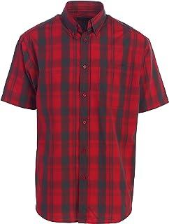 Gioberti Men's Plaid Short Sleeve Shirt