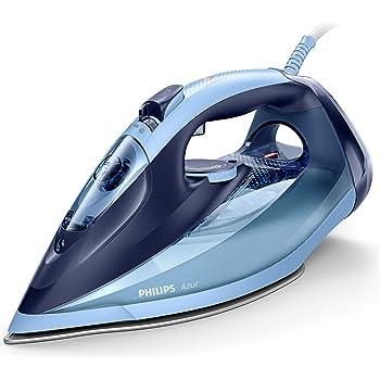 Philips Ferri a vapore Philips GC4564/20 Ferro Azur, Colpo Vapore 240g, Serbatoio 300ml, 2600 W, 0.3 Litri, Azzurro