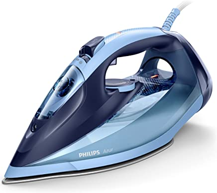 Philips GC4564/20 Azur (Plancha a Vapor, SteamGlide Advanced, 2 m, 240, Azul, 50 g/min), 2600 W, 0.3 litros