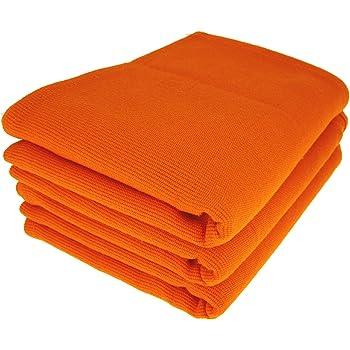 Daloual 3 x – Trapo/Paño de Cocina y Gamuza de limpieza/100% algodón Naranja: Amazon.es: Hogar