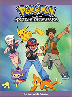 Pokemon the Series: Diamond and Pearl – Battle Dimension Complete Collection (DVD)