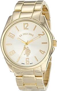 U.S. Polo Assn. Classic USC80215 Reloj de oro análogo de cuarzo para hombre