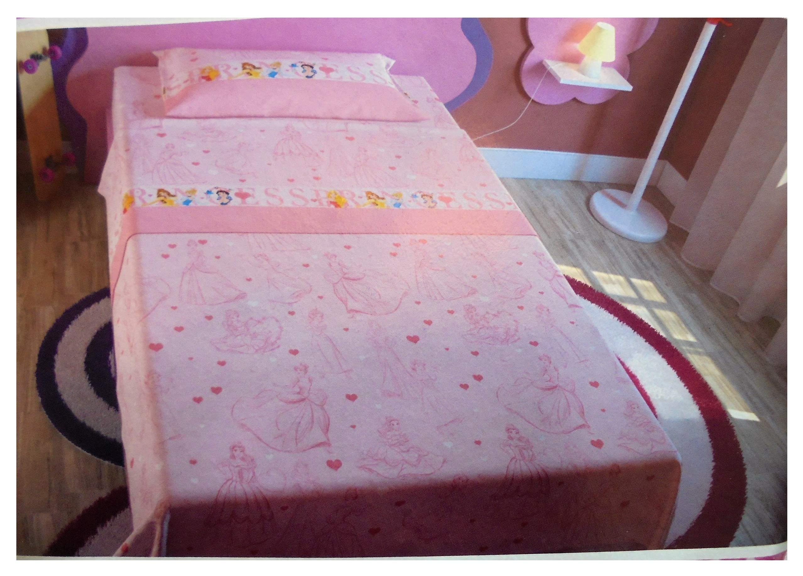 Completo sábanas Princess Princesas Disney para cama individual ...