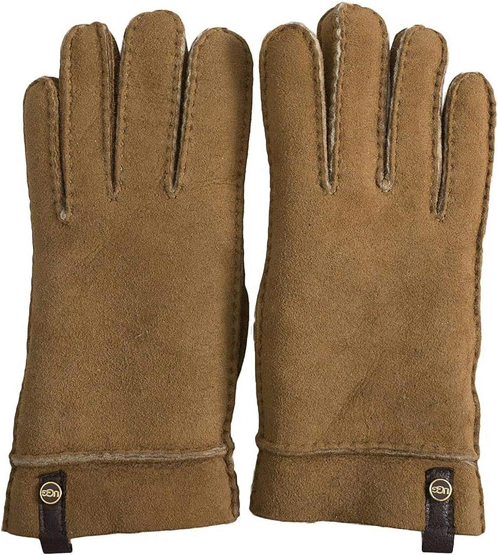 UGG Women's Tenney Glove, Chestnut, Medium