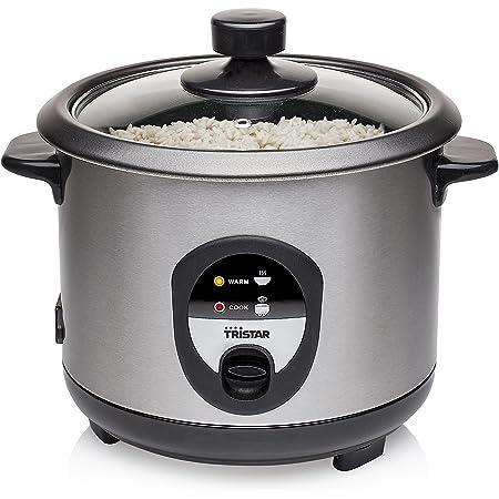Cuiseur à riz Tristar RK-6126 - 1 L - 400 W - 5 portions - Fonction de maintien au chaud