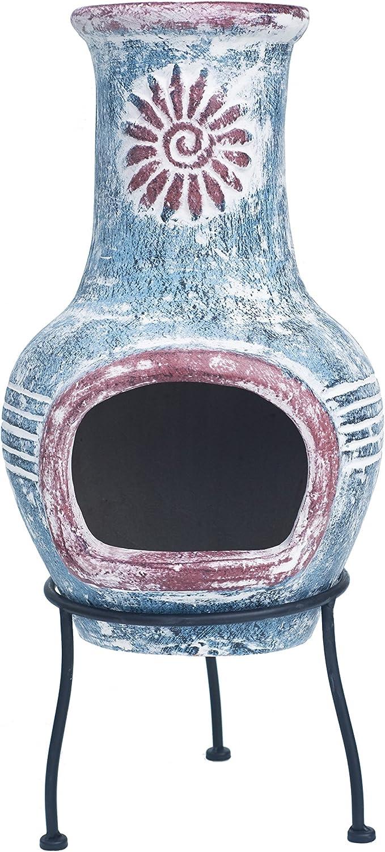 31 x 31 x 68 cm RedFire 86032 Cancun Chimenea Copper