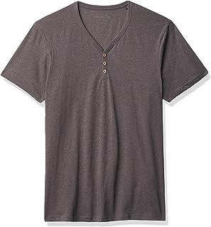 Cotton On Men's Essential Crew Henley Short Sleeve T-Shirt
