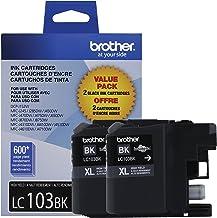 Brother LC1032PKS Printer High Yield Cartridge Ink, Black (3 Pack)