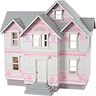 Melissa & Doug Victorian Dollhouse (Detailed Illustrations, Sturdy Wooden Construction, 29.5