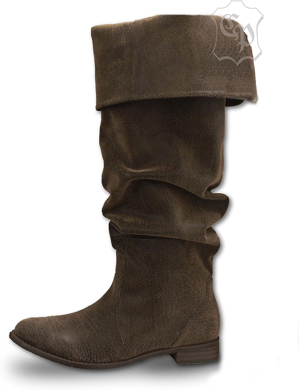 CP-Schuhe Mittelalter Stiefel Stiefel Stiefel Piratenstiefel Käptn Rotbart  776e56