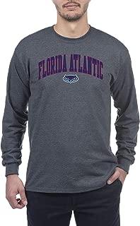 NCAA Men's Long Sleeve Shirt Dark Charcoal Gray