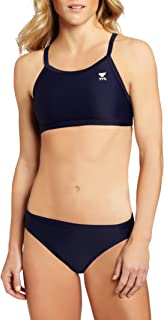 TYR Sport Women`s Solid Durafast Diamondback Workout Bikini