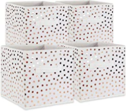 DII Fabric Storage Bins for Nursery, Offices, & Home Organization, Containers are Made to Fit Standard Cube Organizers (11...