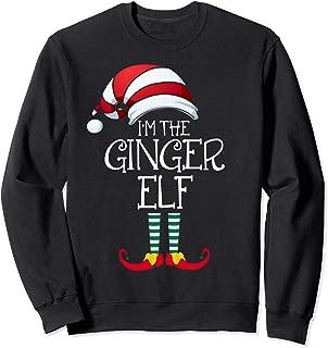 I'm The Ginger Elf Family Matching Christmas Gift Xmas Group Sweatshirt