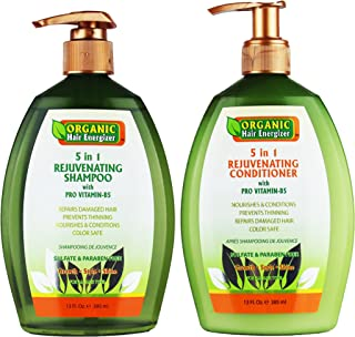 organic hair energizer products