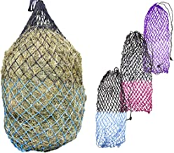 """Derby Originals 56"""" XL Cozi Net Slow Feed Soft Mesh Poly Rope Hanging Hay Net with 2x2"""" Holes"""