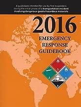 2016 Emergency Response Guidebook, Standard Pocket Size, 4