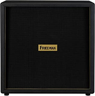 Friedman 4x12 Guitar Cabinet w/ Celestion Vintage 30s & Greenbacks Black