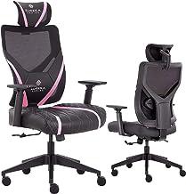Video Game Chair GX5, Black & Pink