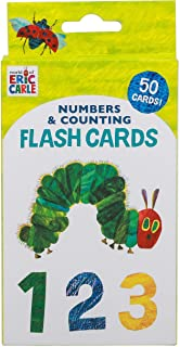 World of Eric Carle (TM) Numbers & Counting Flash Cards: (Learning To Count Cards, Math Flash Cards for Kids, Eric Carle F...