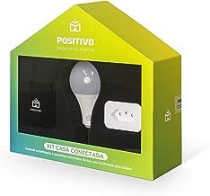 Kit Casa Conectada Positivo Casa Inteligente (1 Smart Controle Universal, 1 Smart Plug Wi-Fi, 1x Smart Lâmpada Wi-Fi), Biv...