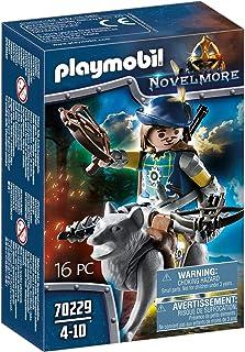 PLAYMOBIL - Novelmore Ballestero con Lobo, para niños de 5 a 10 años de edad (70229)