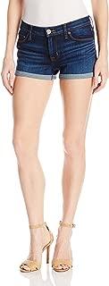 Hudson Jeans Women's Asha Midrise Cuffed 5-Pocket Denim Short