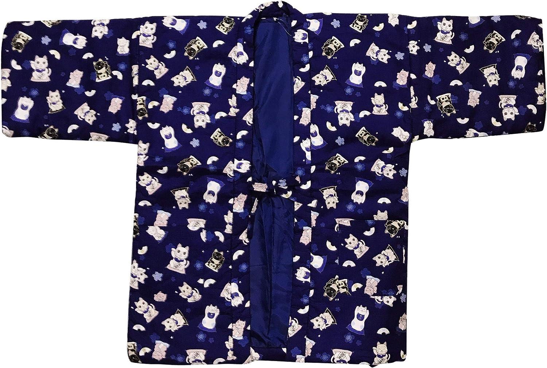 Edoten Japan Mens Free shipping on posting reviews Max 68% OFF Hanten Pattern Reversible