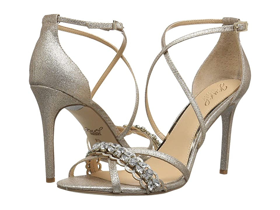 Jewel Badgley Mischka Gisele (Gold Glitter) High Heels