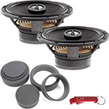 $149 » Focal 165CA1 SG 2-Way 6.5-inch Coaxial Car Speakers Bundle with Fast Rings 3-Pc Audio Enhancement Kit. Rings Increase Mid-...
