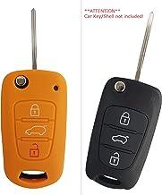 TOMALL mercedes chiave bianco chiave intelligente auto Custodia protettiva per benz 2 pulsanti//3 pulsanti
