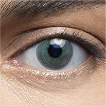 LENSART I Lentes de Contacto ALOE VERDE 1 Par 2 Piezas I 0.00 Dioptrías sin dioptrías I Diámetro 14.00 I Blandos | Ojos Lentillas de Naturales Colores Azul, Blanco, Grises Marron