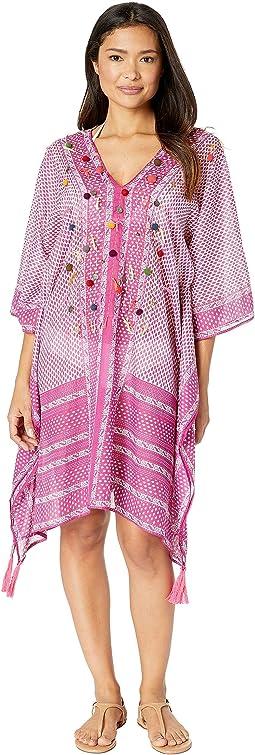 023b05ddda785 Bindya pom pom short kimono | Shipped Free at Zappos