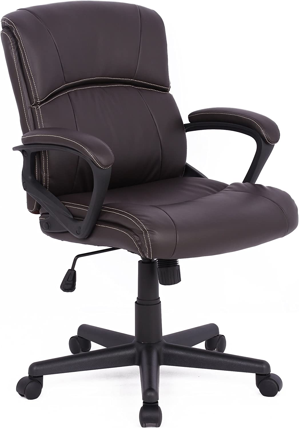Soges Modern Executive Swivel Chair Leather Chair Office Chair with BIFMA Certification Gaming Chair Brown,HLC-1807-5-CA