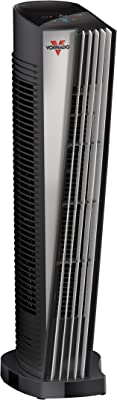Vornado ATH1 Whole Room Tower Heater with Automatic Climate Control, Black