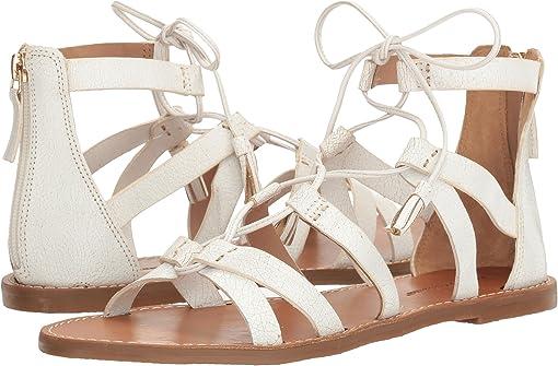 White (Atanado Leather)