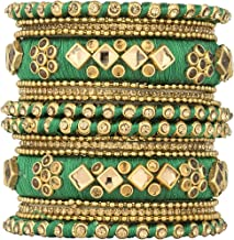 party wear thread bangles