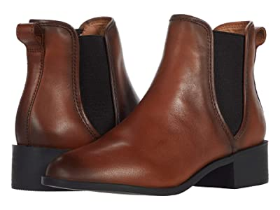 Steve Madden Dares Boot (Cognac Leather) Women