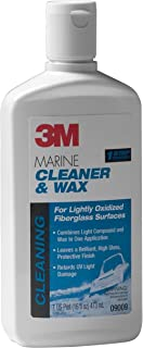 3M 09009 Marine Cleaner and Wax net wt 16 oz
