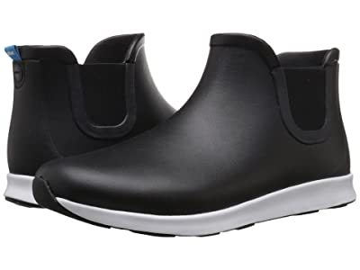 Native Shoes Apollo Rain (Jiffy Black/Shell White/Jiffy Black Rubber) Rain Boots