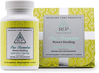 Sponsored Ad - RCP Pure Bromelain 3000 GDU – Highest Potency Available Reduces Bruising, Swelling and Pain